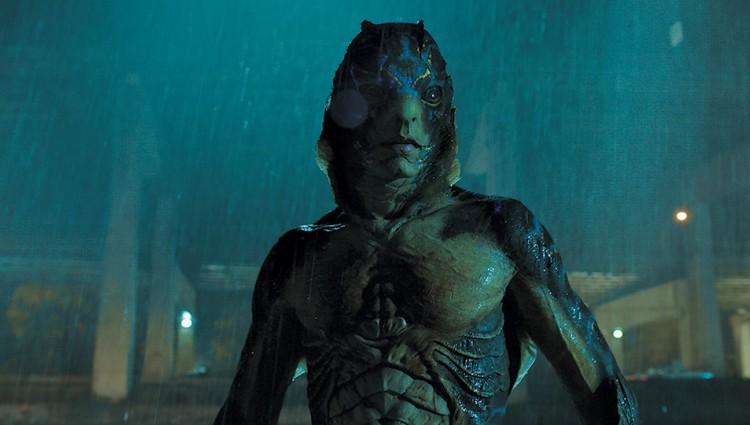 THE SHAPE OF WATER di Guillermo del Toro