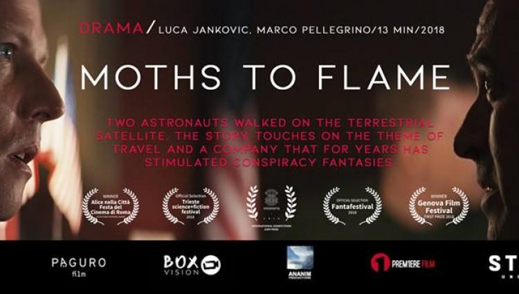 "Nastri D'Argento: ""Moths To Flame"" dell'ex-allievo Marco Pellegrino"