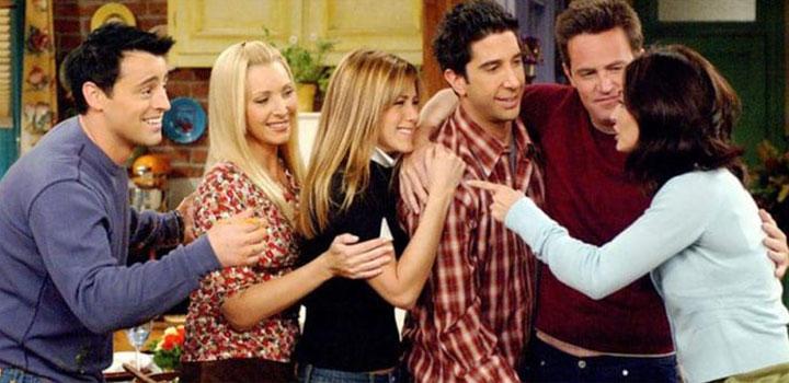 Friends, sitcom americana