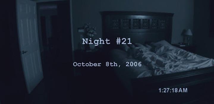 Paranormal activity. Film horror