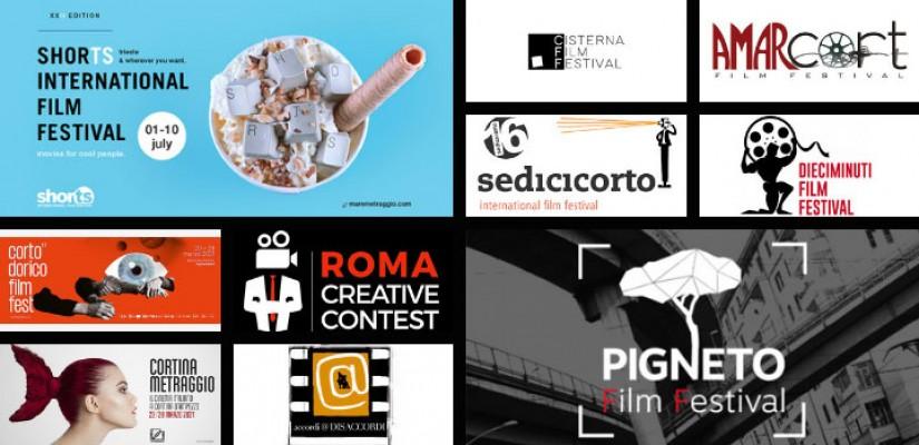 I più importanti festival italiani dedicati al cortometraggio